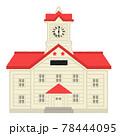 札幌時計台のイラスト 78444095