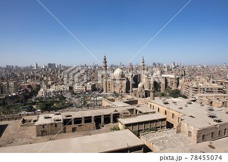 欧州エジプトのカイロのシタデルから見える景色 78455074