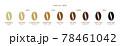 コーヒー豆 焙煎度 78461042