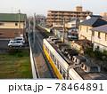 琴電伏石駅複線化 78464891