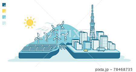 再生可能エネルギー 78468735