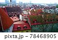 タリンの高台にある歴史地区の展望,エストニア 78468905