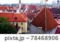 タリンの高台にある歴史地区の展望,エストニア 78468906