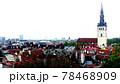 タリンの高台にある歴史地区の展望,エストニア 78468909