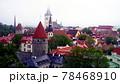 タリンの高台にある歴史地区の展望,エストニア 78468910