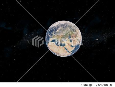 地球CG perming3DCG イラスト素材 78470016