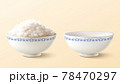 Bowl of rice and its ceramics in 3d 78470297
