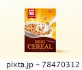 3d cereals carton box mockup 78470312