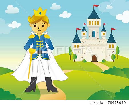 おとぎ話にでてくる王子さま 78473059