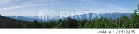 富士見平展望台からの富士山と南アルプス 78475240