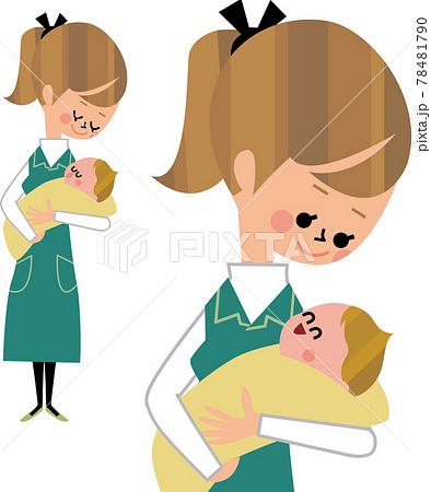 ママと赤ちゃん 78481790