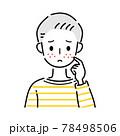 男性 ニキビ 吹き出物 78498506