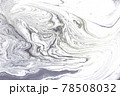 Marble abstract acrylic light background. Nature grey artwork texture. 78508032