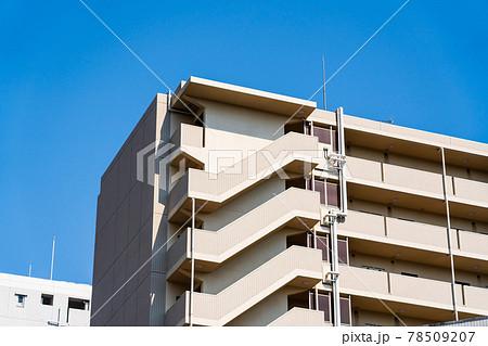 マンション外階段 78509207