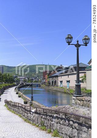 小樽運河(同時撮影の動画素材あり) 78524993