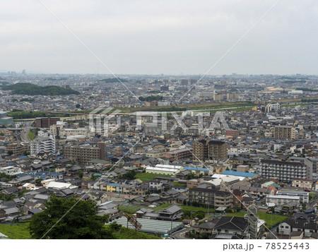 高尾山から見下ろした柏原市の市街地 78525443