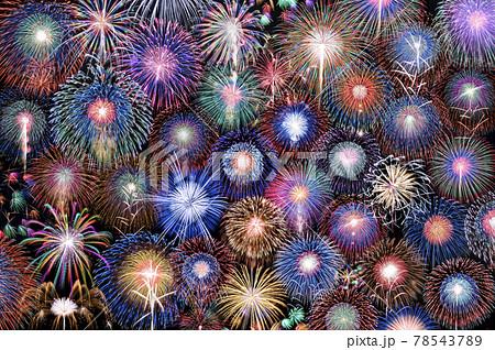 アメリカ独立記念日の花火イメージ 78543789