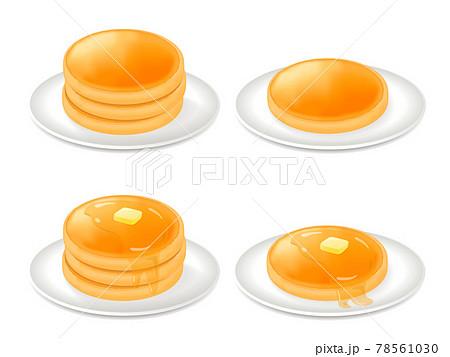 パンケーキのベクターイラスト 78561030