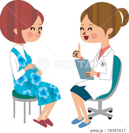 妊婦と医者 78567617