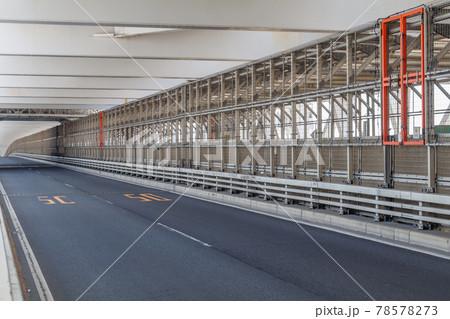 【交通素材】レインボーブリッジ一般道 78578273