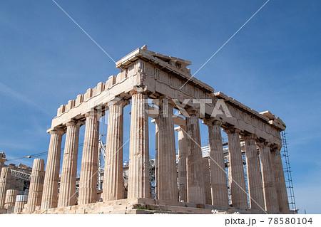 ギリシャのパルテノン神殿 78580104