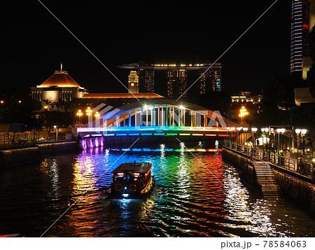 シンガポールの街並 78584063
