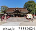 道明寺天満宮の拝殿 78589624