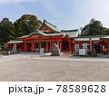 多治速比売神社の拝殿 78589628
