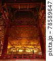 東大寺の大仏背面 78589647