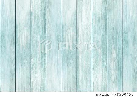 ブルーグリーンの板の組合せテクスチャ 78590456