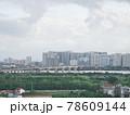 雨上がりの高層ビル群(ベトナム・ハノイ・ロンビエン) 78609144