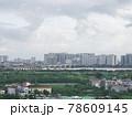 雨上がりの高層ビル群(ベトナム・ハノイ・ロンビエン) 78609145