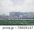 雨上がりの高層ビル群(ベトナム・ハノイ・ロンビエン) 78609147