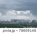 雨上がりの高層ビル群(ベトナム・ハノイ・ロンビエン) 78609148
