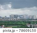 雨上がりの高層ビル群(ベトナム・ハノイ・ロンビエン) 78609150
