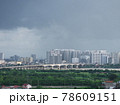 雨上がりの高層ビル群(ベトナム・ハノイ・ロンビエン) 78609151