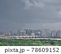雨上がりの高層ビル群(ベトナム・ハノイ・ロンビエン) 78609152