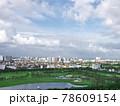 雨上がりの高層ビル群(ベトナム・ハノイ・ロンビエン) 78609154