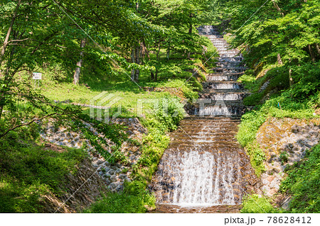 (長野県)牛伏川フランス式階段工 78628412