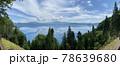 夏の田沢湖 秋田県 自然風景 78639680