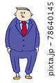 スーツ姿のビジネスマン 78640145