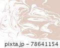 Beige light artwork marble texture. Vector illustration. 78641154