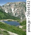 山から見える池 78644542