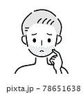 男性 ひげ 78651638