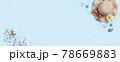 貝殻 トスターダ 麦わら帽子 78669883