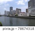 写真素材 大阪の街並み 78674318