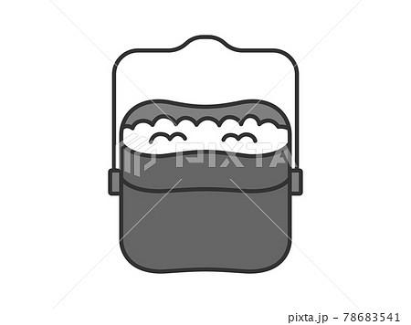 キャンプ用の飯盒のイラスト 78683541