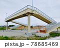 施工中の歩道橋 78685469
