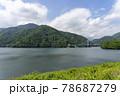 三保ダム(丹沢湖)の風景 78687279