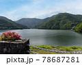 三保ダム(丹沢湖)の風景 78687281